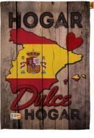 Spain Hogar Dules House Flag