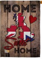 UK Home Sweet House Flag