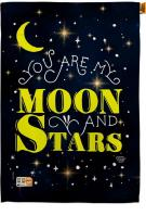 You Are My Moon And Star House Flag