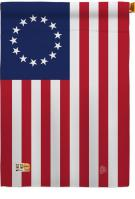 Betsy Ross Decorative House Flag