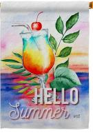 Summer Cool Drink House Flag