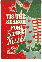 Season Sweet Kisses House Flag