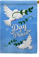 Day Of Peace House Flag