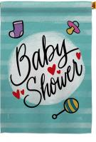 Baby Shower Decorative House Flag