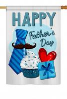 Happy Father\'s Day House Flag