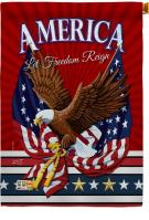 Let Freedom Reign House Flag