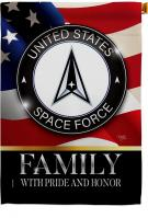 US Space Force Family Honor House Flag