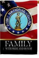 US Army National Guard Family Honor House Flag