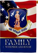 US Air National Guard Family Honor House Flag