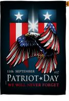 911 Patriot Day House Flag