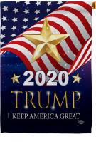 2020 Trump Keep America Great House Flag