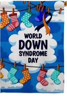 World Down Syndrome Day House Flag