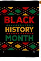 Black History Month House Flag