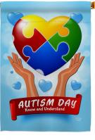 Autism Day House Flag