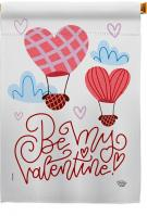 Be My Valentine House Flag