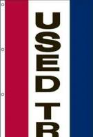Used Trucks Vertical Message Panel, High Wind US Made 3\' x 10\'