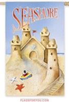 Seashore Sandcastle House Flag - 7 left