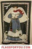 Joyeux Noel Angel House Flag - 5 left