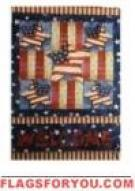 Welcome Patriotic House Flag - 7 left